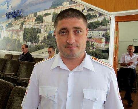 Дмитрий Александрович Чучин, начальник ГИБДД Бердска