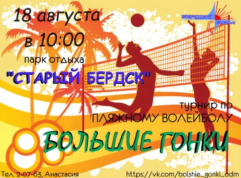 Приглашаем молодежь города Бердска поиграть в волейбол!