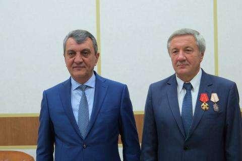 Сергей Меняйло и Виктор Осин