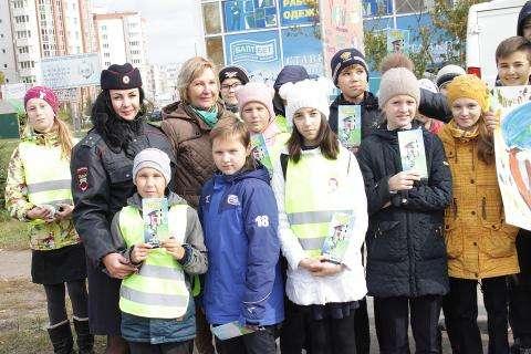 ГИБДД Бердска провела акцию «Сбавь скорость-сохрани жизнь!»