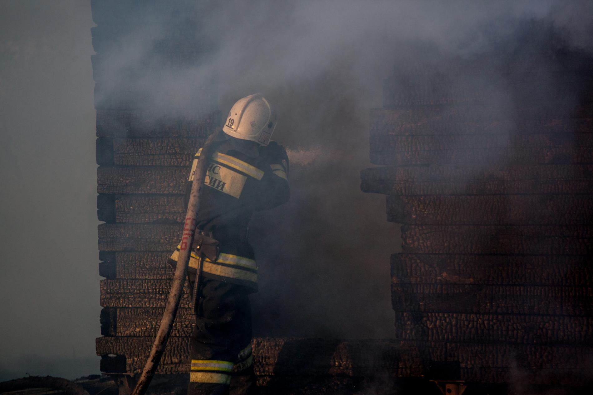 Пожар в бердске фото